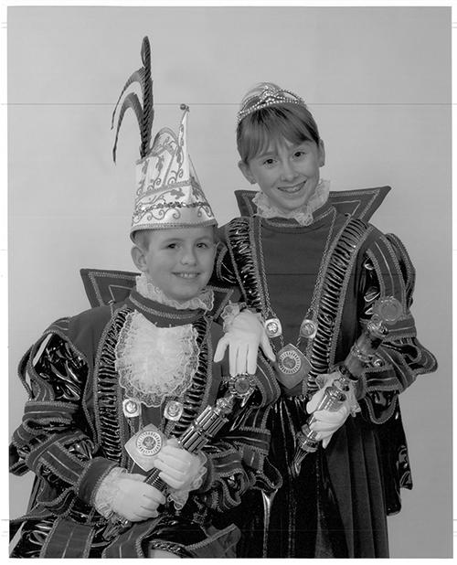 Kinjer Optoch Kommitee Broenssem 2007 Nicky & Anniek