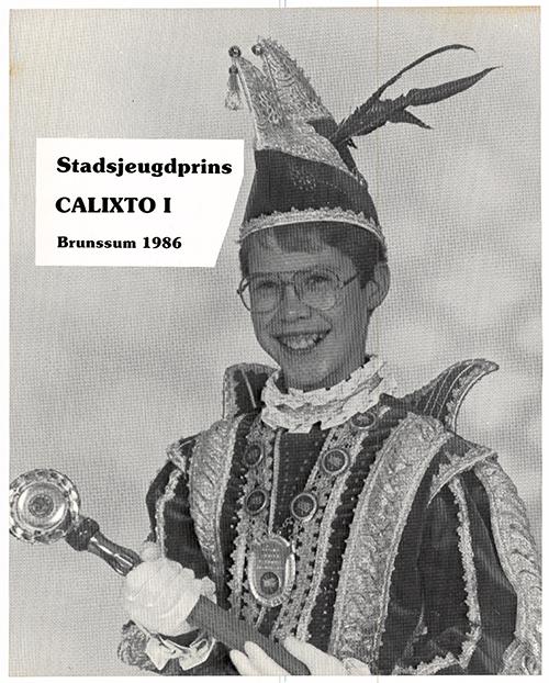 Kinjer Optoch Kommitee Broenssem 1986 Calixto 1