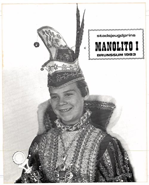 Kinjer Optoch Kommitee Broenssem 1983 Manolito 1